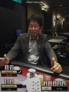 7.13(月) ポーカーサミットサテライト with Royal CUP 優勝