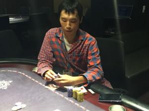 6.30(火) ポーカー甲子園サテライト with Royal CUP 2位