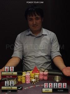 7.6(日) ポーカーサミットサテライト with Royal CUP 優勝